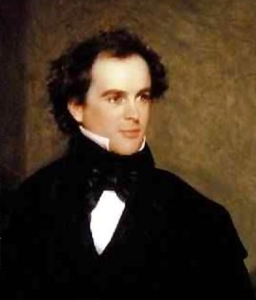 Portrait of Nathanial Hawthorne in my book review.