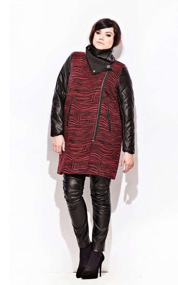 I love this tiger print-ish coat from Carmakoma.
