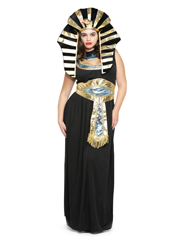 Plus size Cleopatra costume from Torrid.