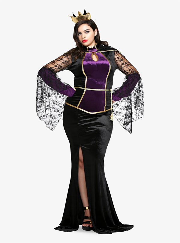 Plus size Evil Queen costume from Torrid.