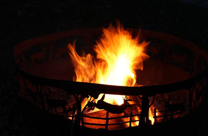 Fire Pit.