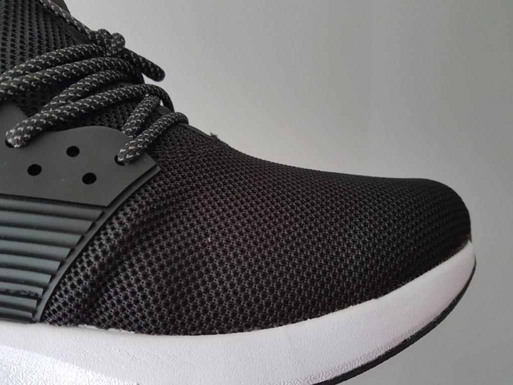 The profile of Loom Footwear waterproof sneakers.