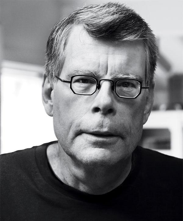 Stephen King (Photograph © Shane Leonard)