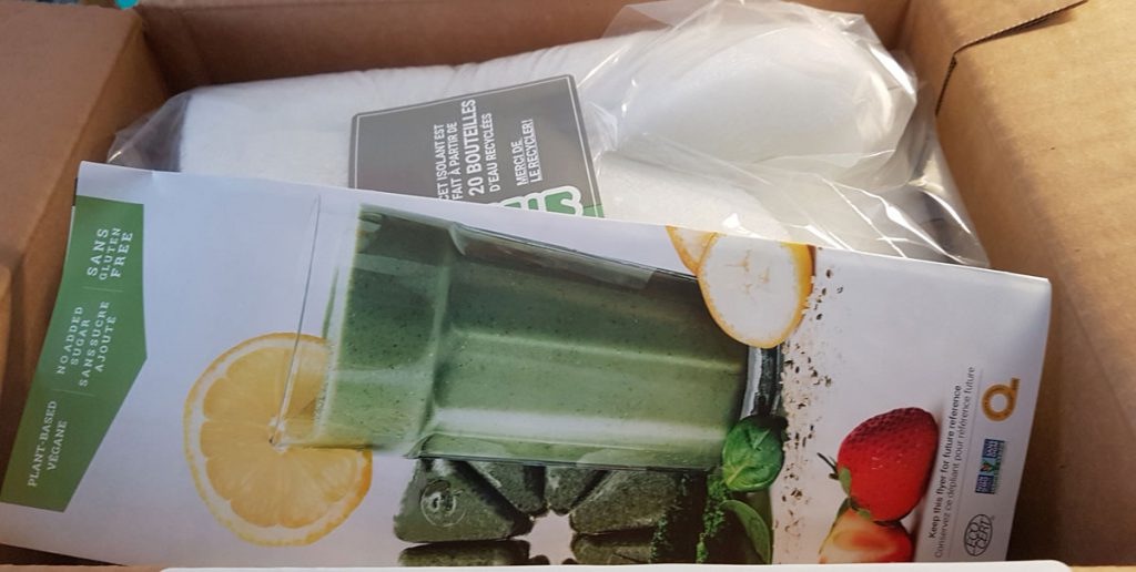 First delivery of Evive Smoothies.