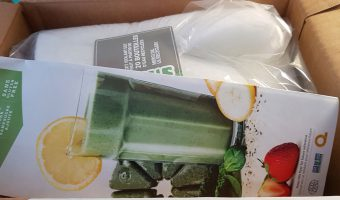 My first order of Evive Smoothies.